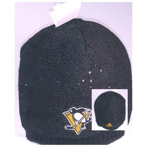🐧Adidas Pittsburgh Penguins Black Winter Knit Hat